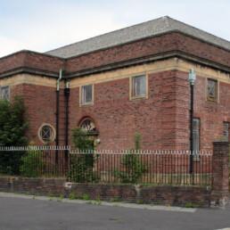 Byrne Avenue Baths Front Exterior