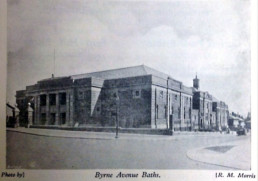 Byrne Avenue Baths Very Early photo