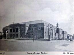 Byrne Avenue Baths Very Early photo