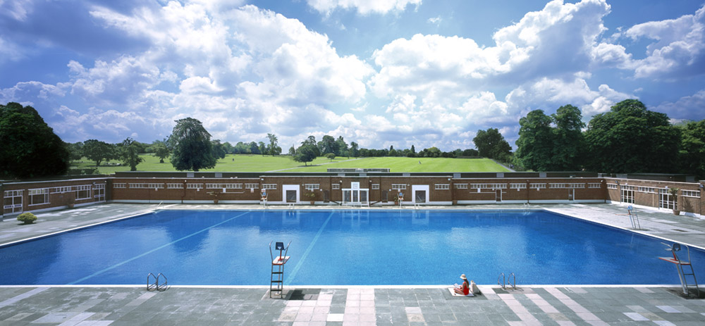 Brockwell Lido Brixton London