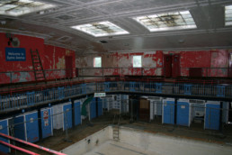Byrne Avenue Baths Pool Interior