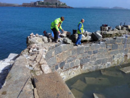 La Vallette 2017 Restoration work funded by islanders Gents Pool
