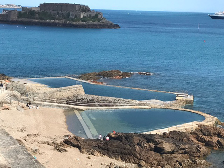 La Vallette Bathing Pools Guernsey