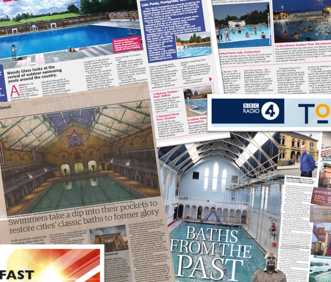 Historic pools of britain media update for Mounts swimming pool northampton