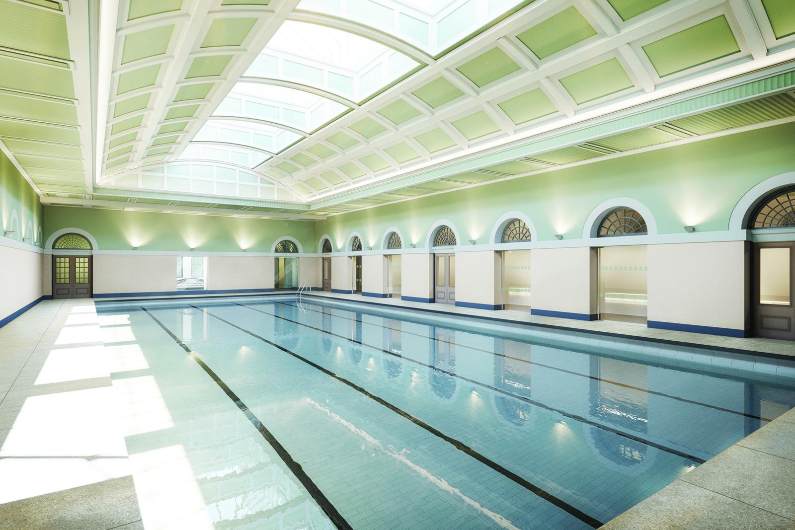Newcastle city pool for Mounts swimming pool northampton